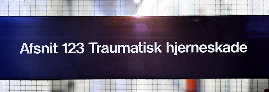 Traumatisk hjerneskade Hvidovre Hospital