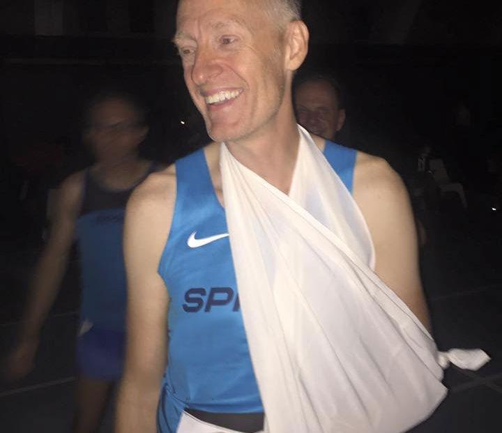 Mikkeller Aftenløb 2016 - brækket skulder